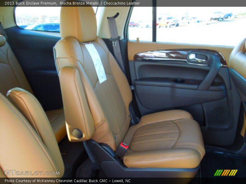 Mocha Bronze Metallic / Choccachino Leather 2013 Buick Enclave Premium