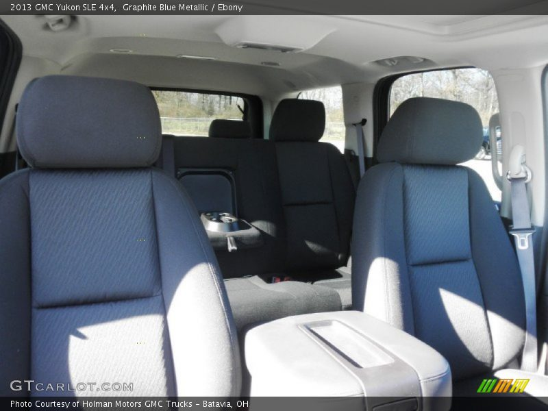 Graphite Blue Metallic / Ebony 2013 GMC Yukon SLE 4x4