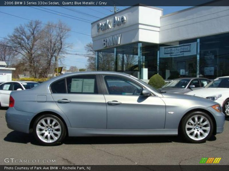2006 bmw 3 series 330xi sedan in quartz blue metallic photo no 7444256. Black Bedroom Furniture Sets. Home Design Ideas