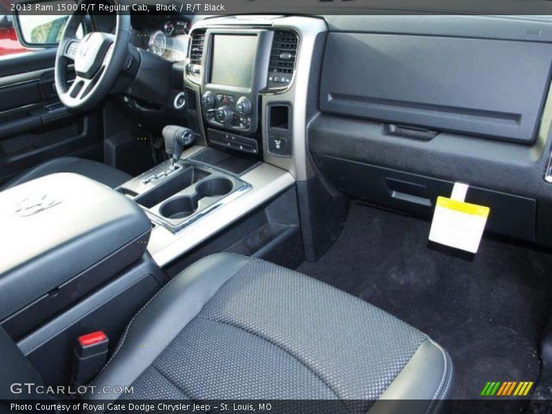 Dashboard of 2013 1500 R/T Regular Cab