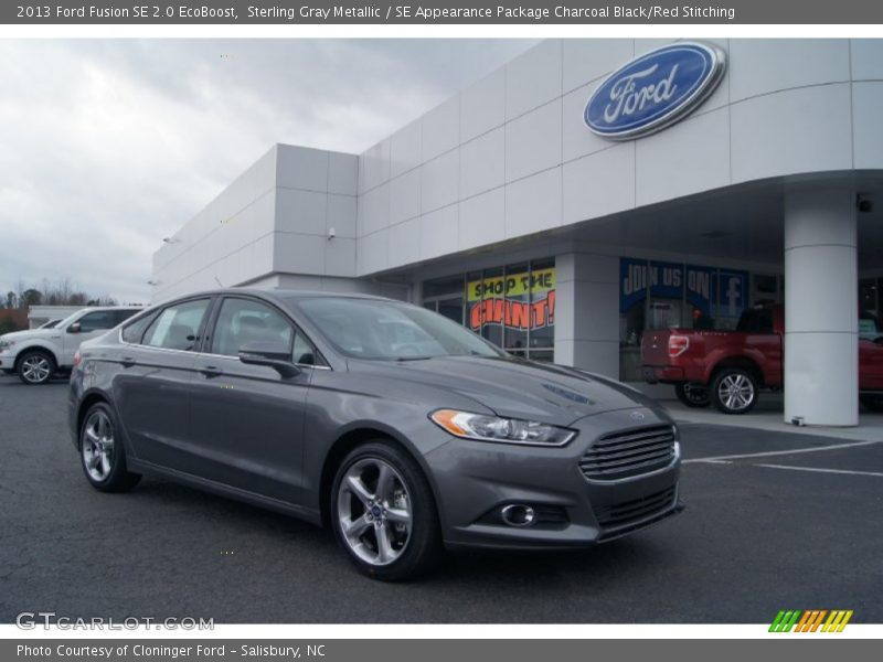 2013 ford fusion se 2 0 ecoboost in sterling gray metallic photo no 74582951. Black Bedroom Furniture Sets. Home Design Ideas