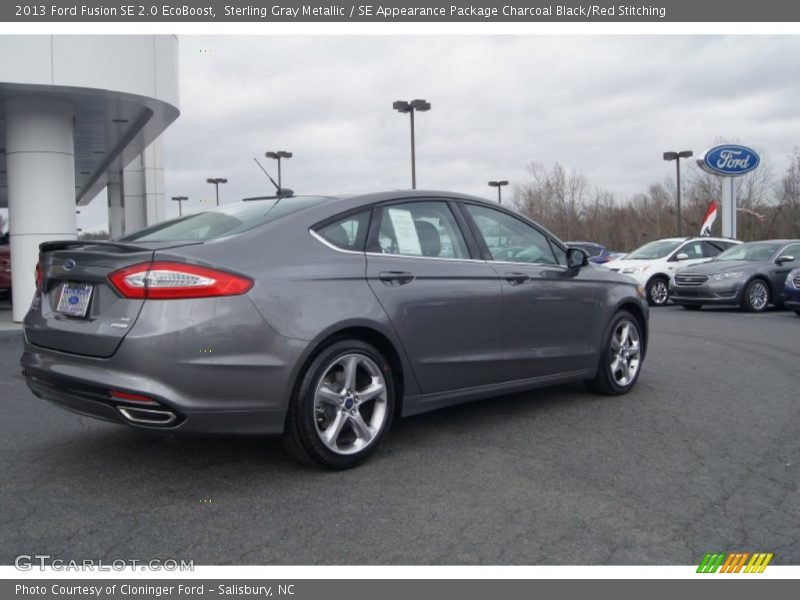 2013 ford fusion se 2 0 ecoboost in sterling gray metallic photo no 74582997. Black Bedroom Furniture Sets. Home Design Ideas