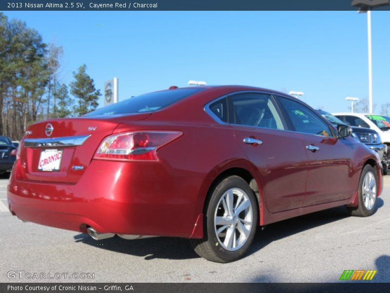 2013 Nissan Altima 2 5 Sv In Cayenne Red Photo No