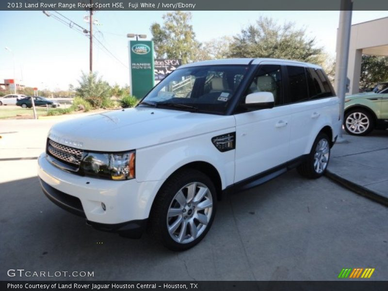 2013 land rover range rover sport hse in fuji white photo. Black Bedroom Furniture Sets. Home Design Ideas