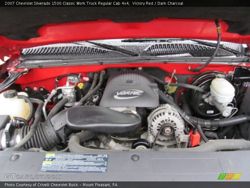 2007 Silverado 1500 Classic Work Truck Regular Cab 4x4 Engine - 4.8 Liter OHV 16-Valve Vortec V8
