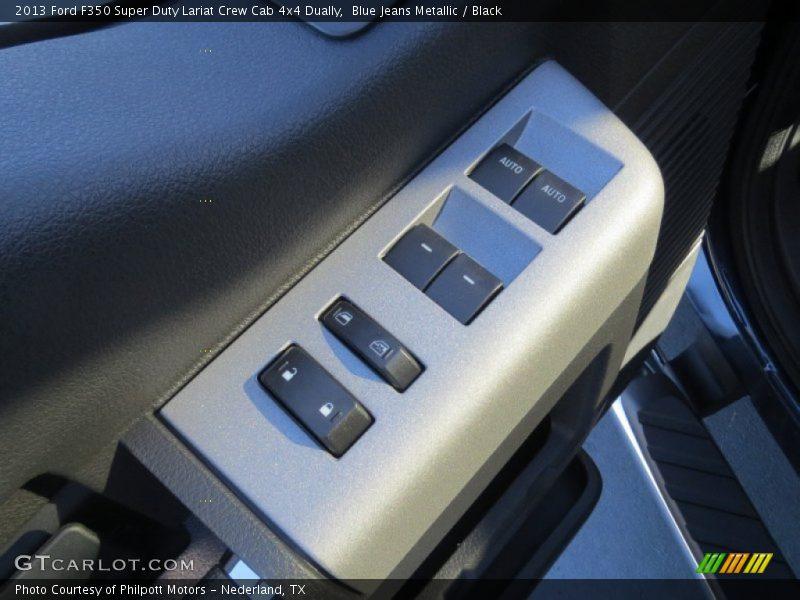 Blue jeans metallic black 2013 ford f350 super duty lariat crew cab