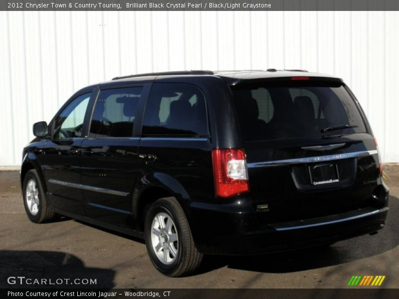 2012 chrysler town country touring in brilliant black crystal pearl photo no 75055678. Black Bedroom Furniture Sets. Home Design Ideas