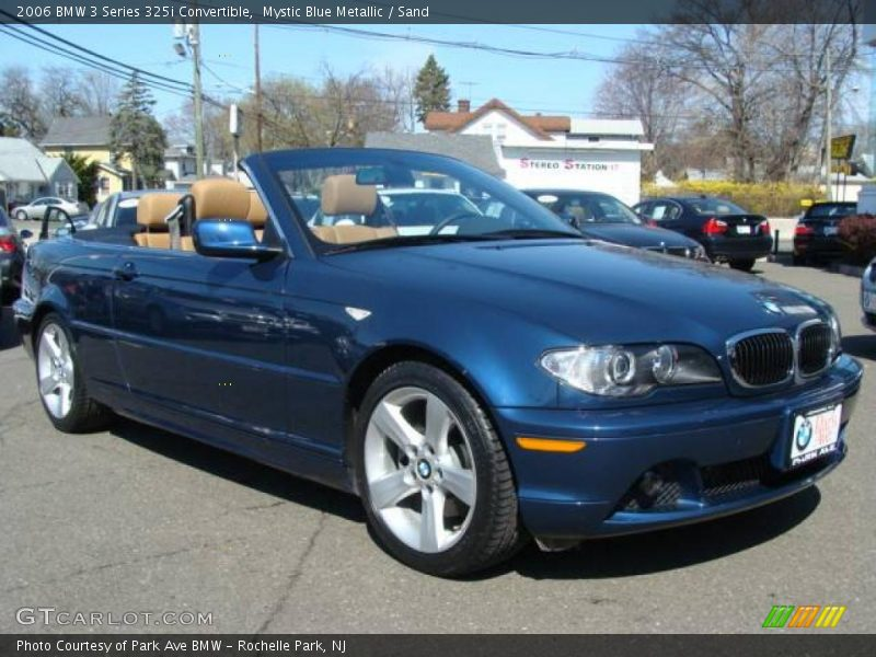 Mystic Blue Metallic / Sand 2006 BMW 3 Series 325i Convertible