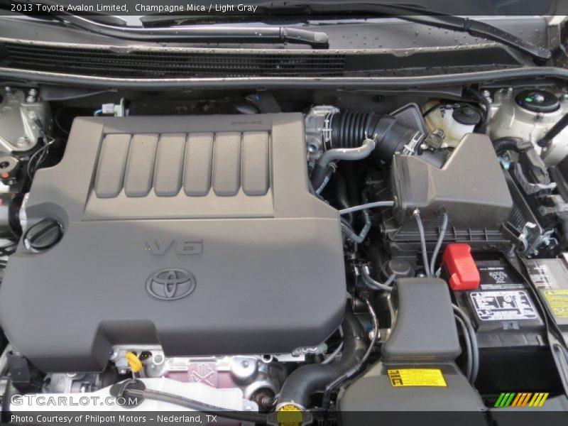 2013 avalon limited engine 3 5 liter dohc 24 valve dual vvt i v6 photo no 75274656. Black Bedroom Furniture Sets. Home Design Ideas