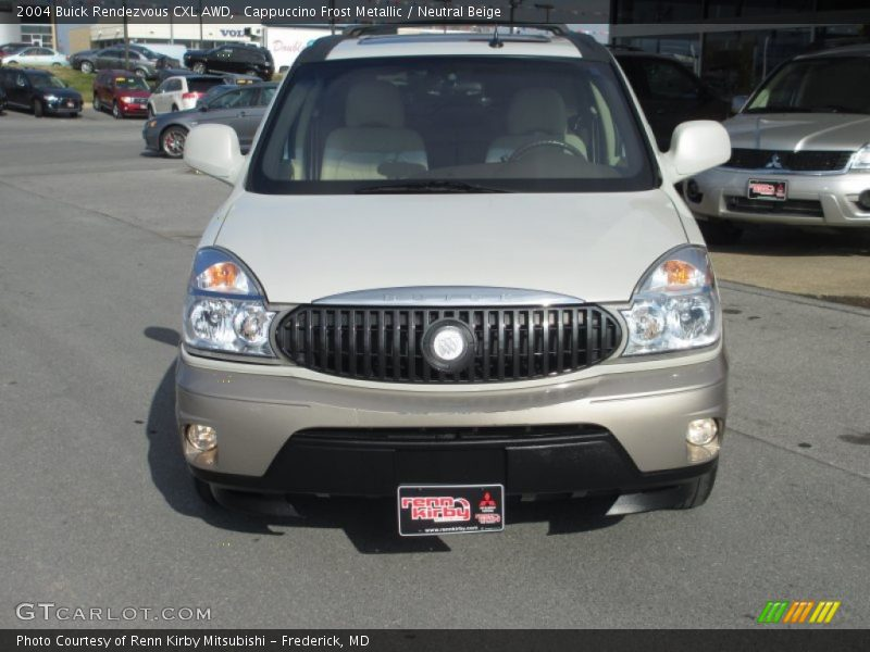 Cappuccino Frost Metallic / Neutral Beige 2004 Buick Rendezvous CXL AWD