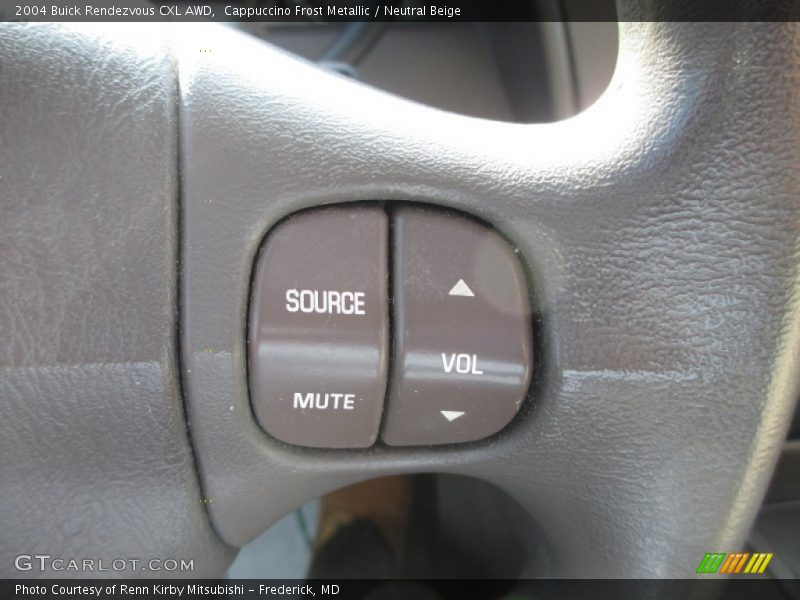 Cappuccino Frost Metallic / Neutral Beige 2004 Buick Rendezvous CXL AWD