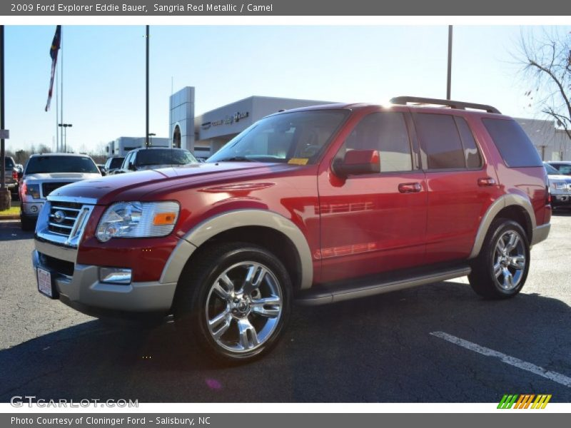 2009 ford explorer eddie bauer in sangria red metallic photo no 75504373. Black Bedroom Furniture Sets. Home Design Ideas