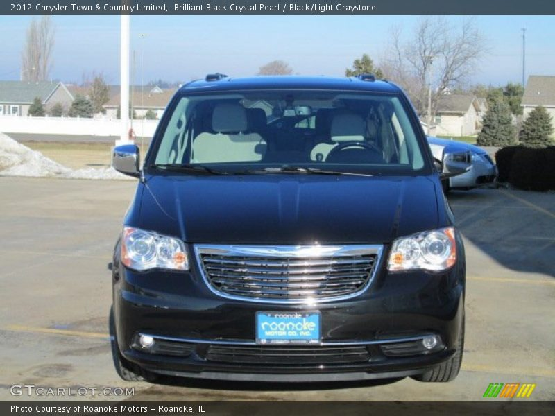 2012 chrysler town country limited in brilliant black crystal pearl photo no 75593279. Black Bedroom Furniture Sets. Home Design Ideas