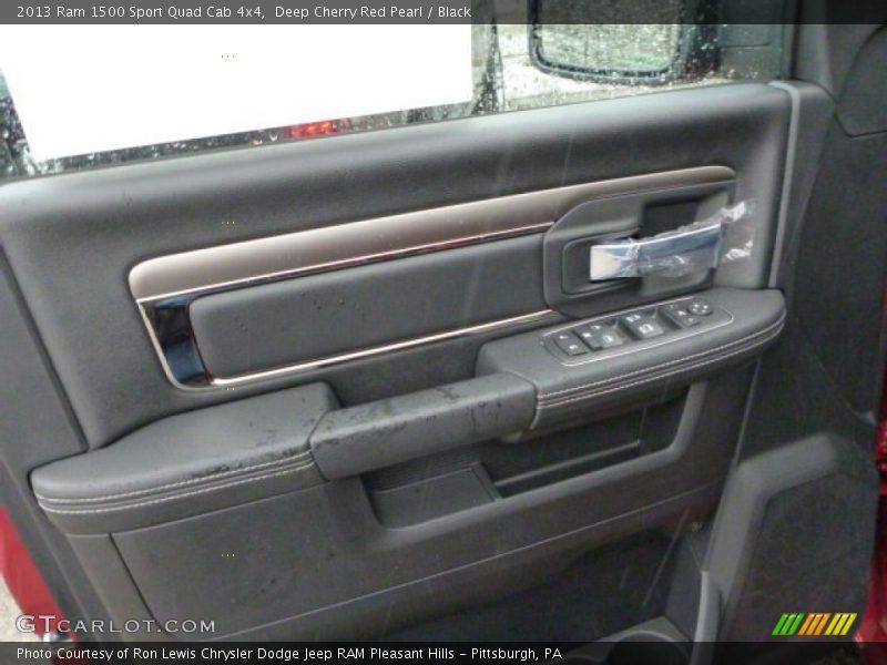 Door Panel of 2013 1500 Sport Quad Cab 4x4