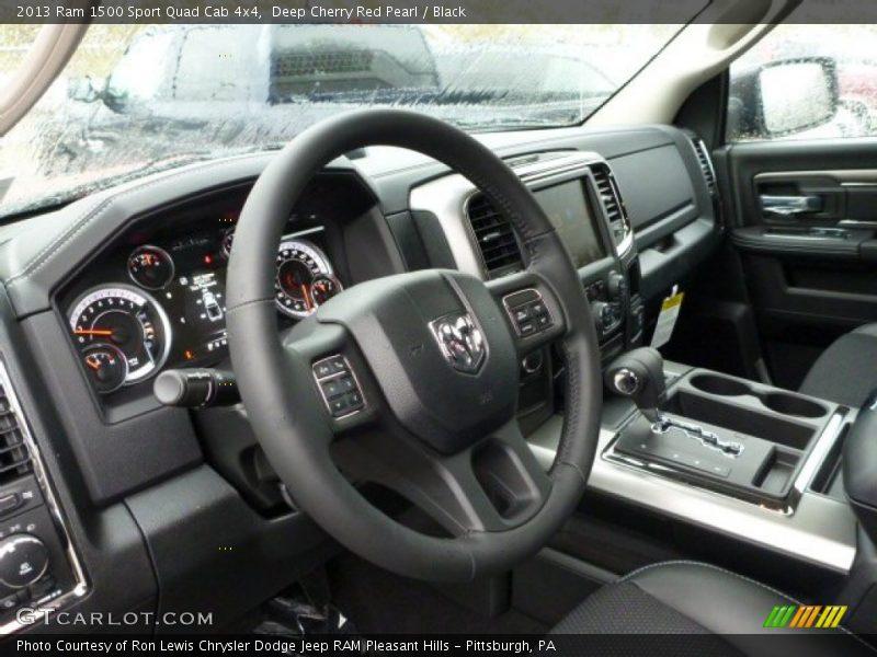 Dashboard of 2013 1500 Sport Quad Cab 4x4
