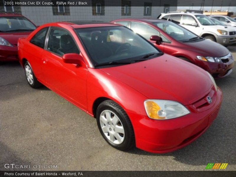 my car no ordinary red honda civic ex