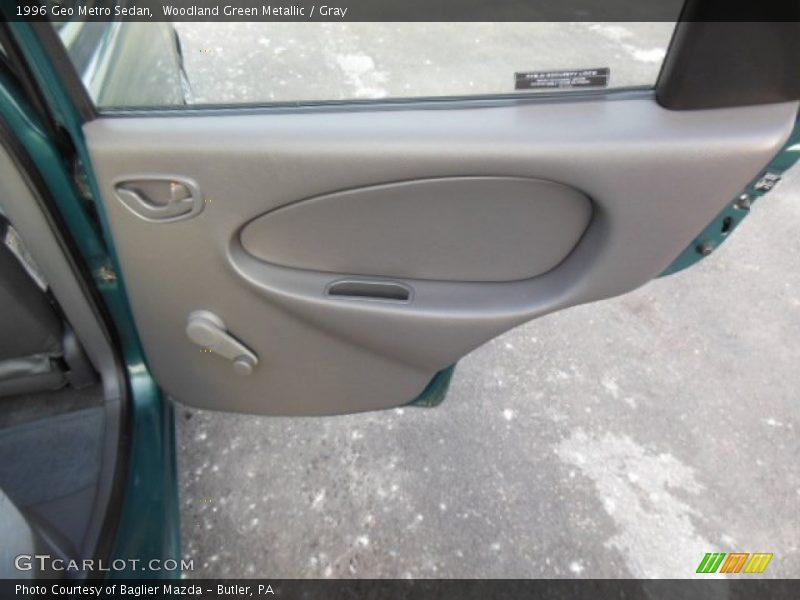 Door Panel of 1996 Metro Sedan
