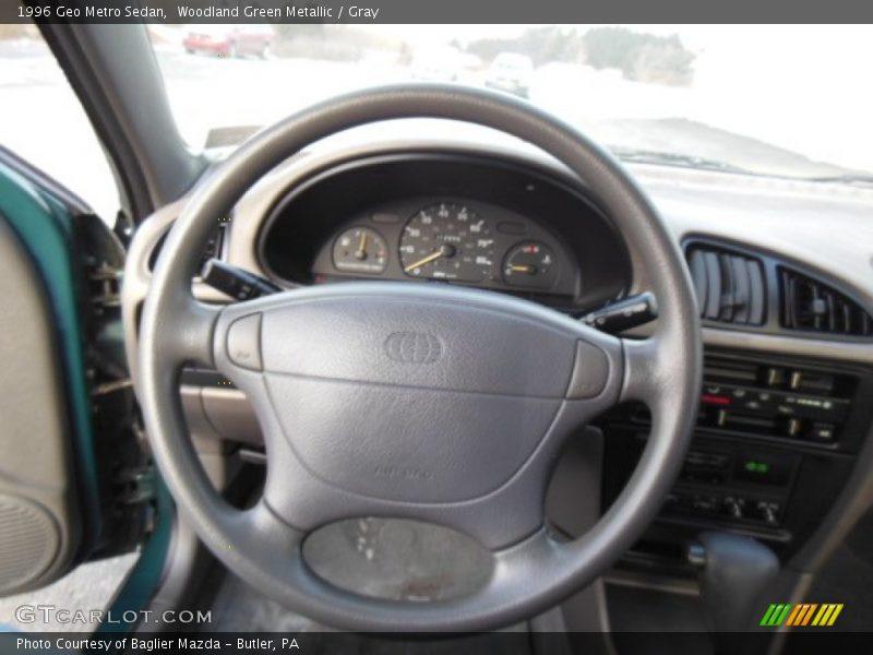1996 Metro Sedan Steering Wheel