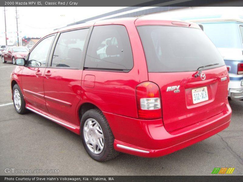2000 MPV ES Classic Red