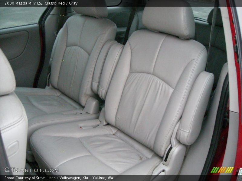 Rear Seat of 2000 MPV ES