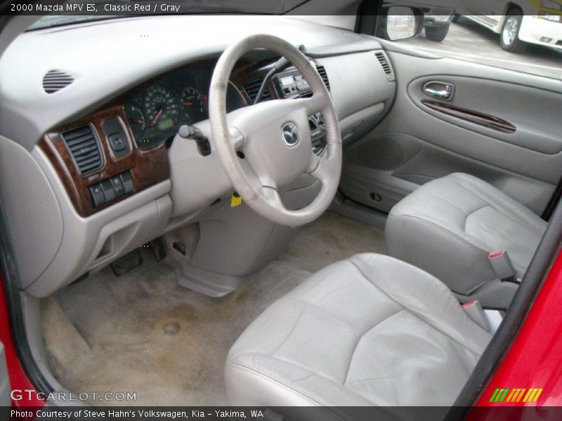 Gray Interior - 2000 MPV ES