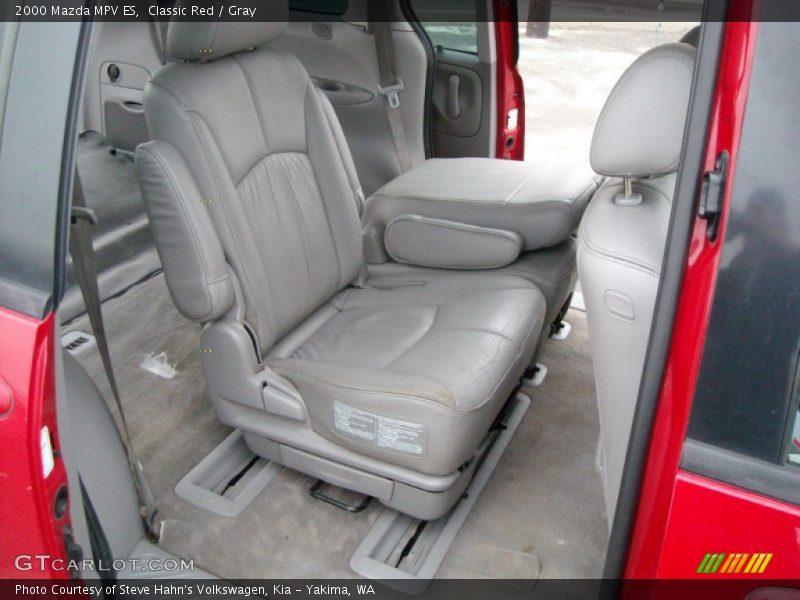 Rear Seat of 2000 MPV ES