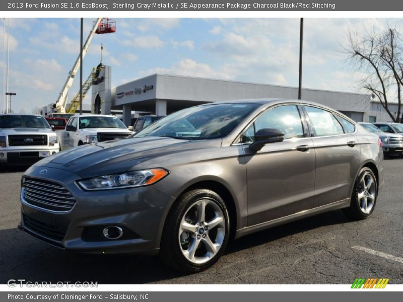 2013 ford fusion se 1 6 ecoboost in sterling gray metallic photo no 76520538. Black Bedroom Furniture Sets. Home Design Ideas
