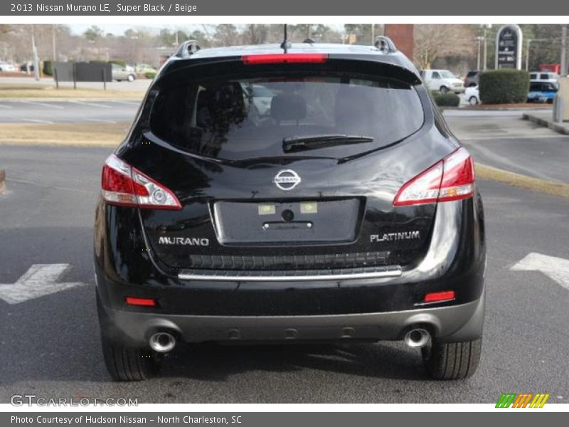 2013 nissan murano le in super black photo no 76785011. Black Bedroom Furniture Sets. Home Design Ideas