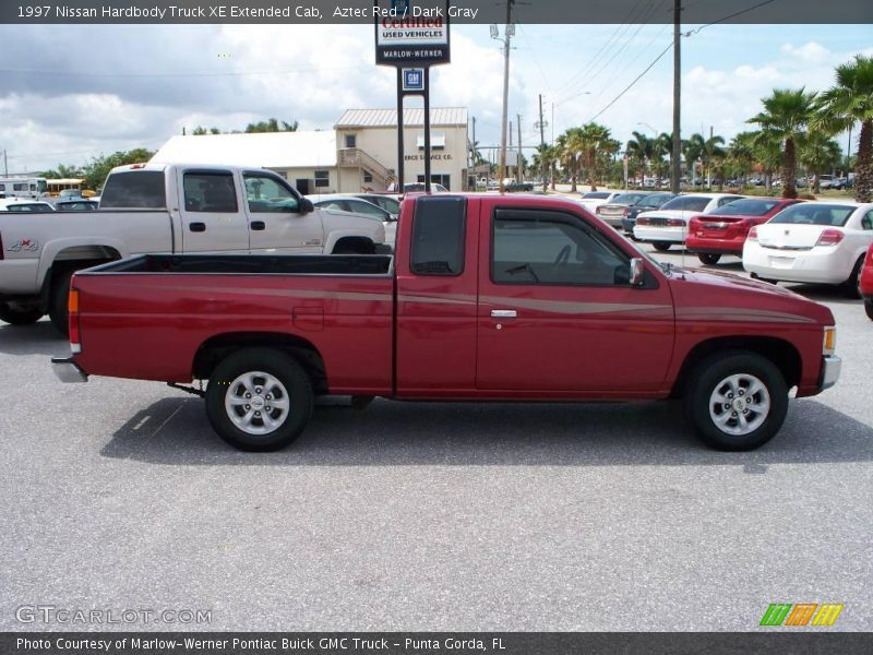 1997 nissan hardbody truck xe extended cab in aztec red photo no 7686868. Black Bedroom Furniture Sets. Home Design Ideas