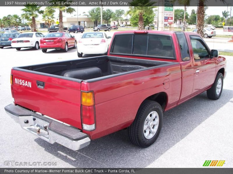 1997 nissan hardbody truck xe extended cab in aztec red photo no 7686873. Black Bedroom Furniture Sets. Home Design Ideas