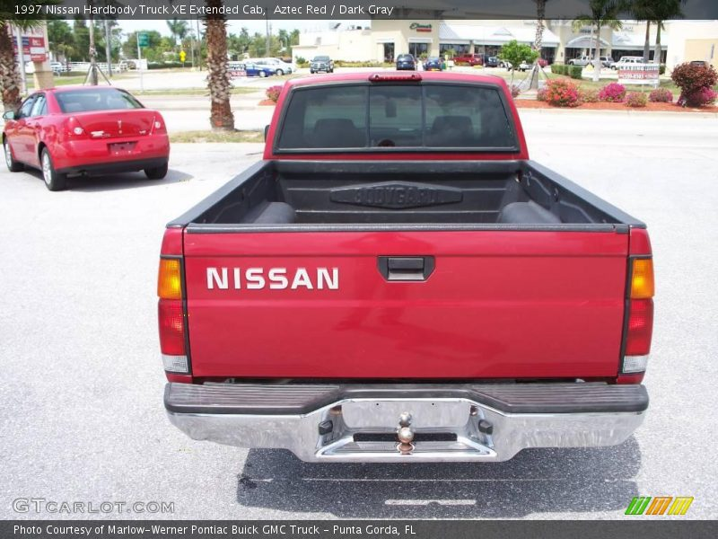 1997 nissan hardbody truck xe extended cab in aztec red photo no 7686878. Black Bedroom Furniture Sets. Home Design Ideas