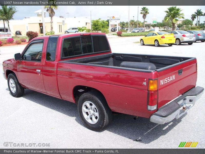 1997 nissan hardbody truck xe extended cab in aztec red photo no 7686883. Black Bedroom Furniture Sets. Home Design Ideas