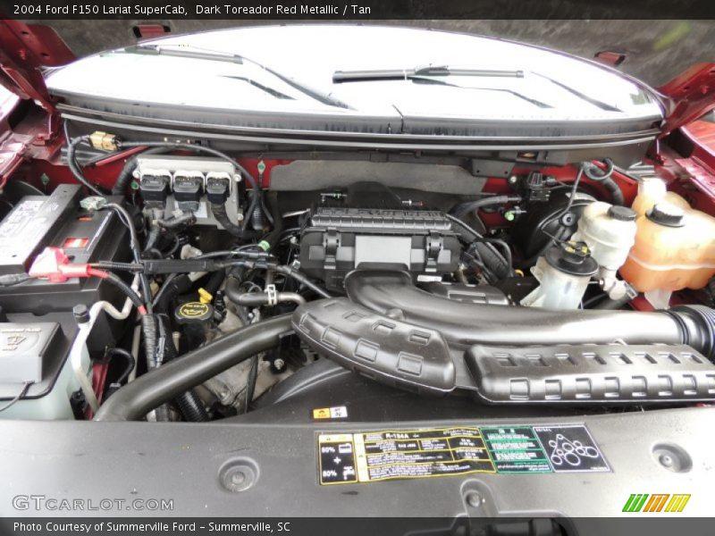 2004 f150 lariat supercab engine 5 4 liter sohc 24v triton v8 photo no 77236499. Black Bedroom Furniture Sets. Home Design Ideas