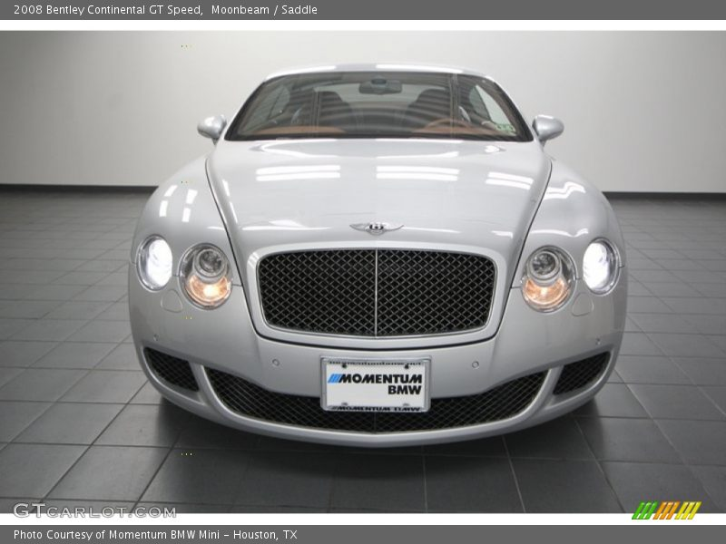 Moonbeam / Saddle 2008 Bentley Continental GT Speed