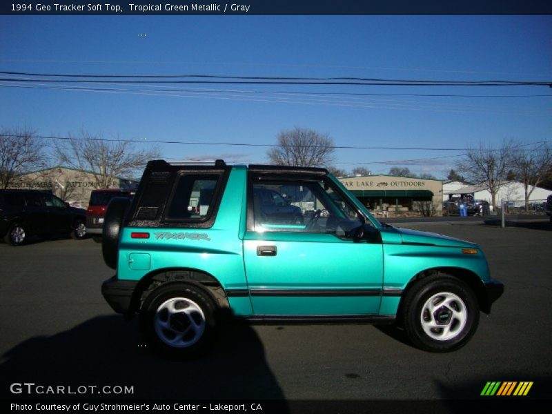 1994 Tracker Soft Top Tropical Green Metallic