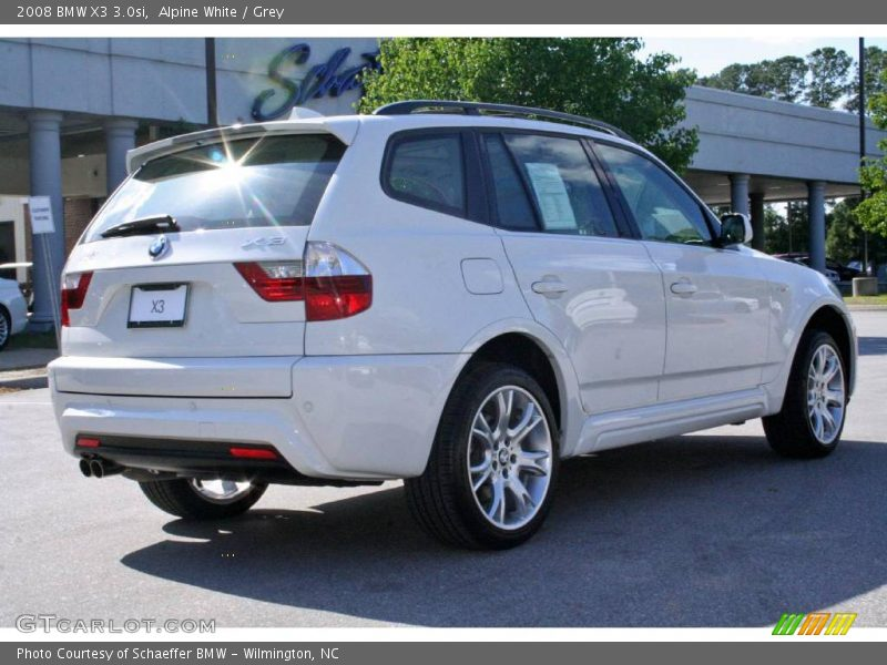 2008 bmw x3 in alpine white photo no 7756647. Black Bedroom Furniture Sets. Home Design Ideas