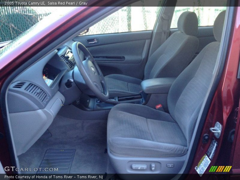 2005 Camry LE Gray Interior