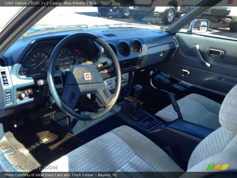 1982 280ZX 2+2 Coupe Blue Interior Photo No. 77939265 ...