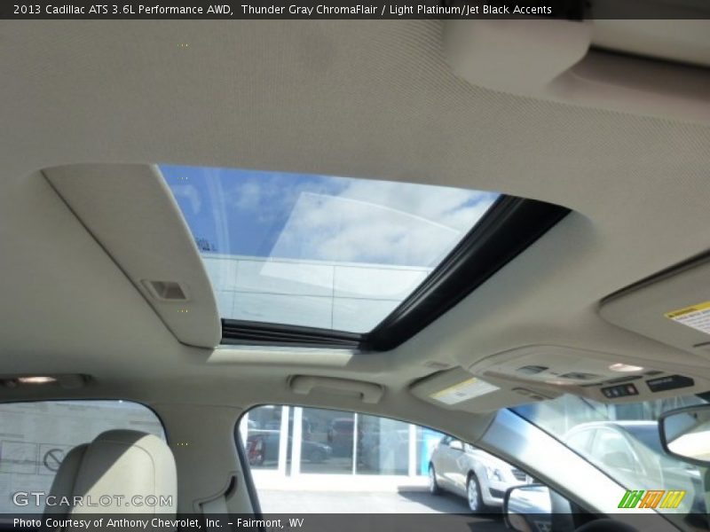 Sunroof of 2013 ATS 3.6L Performance AWD