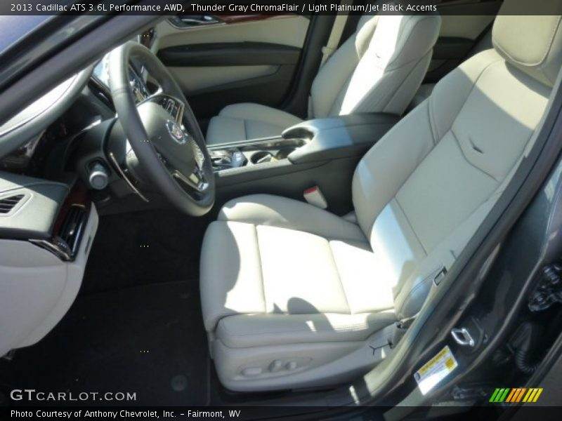 Front Seat of 2013 ATS 3.6L Performance AWD