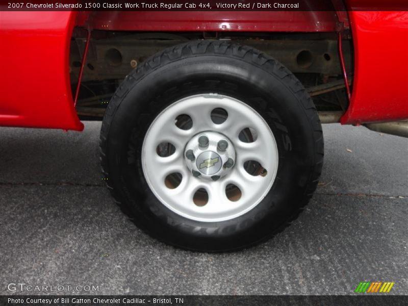 2007 Silverado 1500 Classic Work Truck Regular Cab 4x4 Wheel