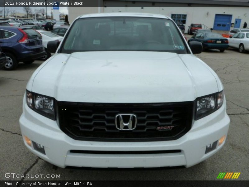 2013 honda ridgeline sport in white photo no 78201898. Black Bedroom Furniture Sets. Home Design Ideas