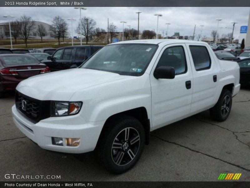 2013 honda ridgeline sport in white photo no 78201906. Black Bedroom Furniture Sets. Home Design Ideas