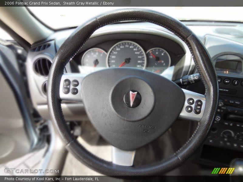 Stealth Gray Metallic / Ebony 2006 Pontiac Grand Prix Sedan