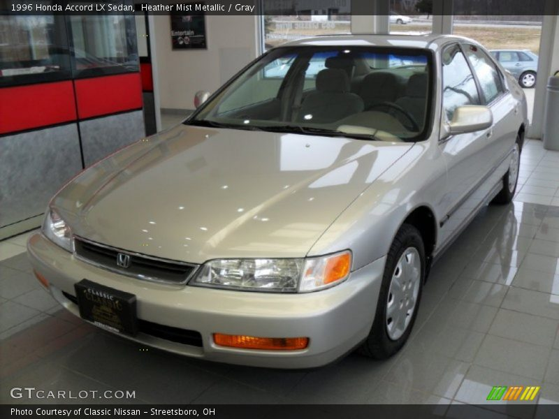 Heather Mist Metallic / Gray 1996 Honda Accord LX Sedan