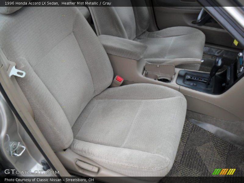 Heather Mist Metallic / Gray 1996 Honda Accord LX Sedan