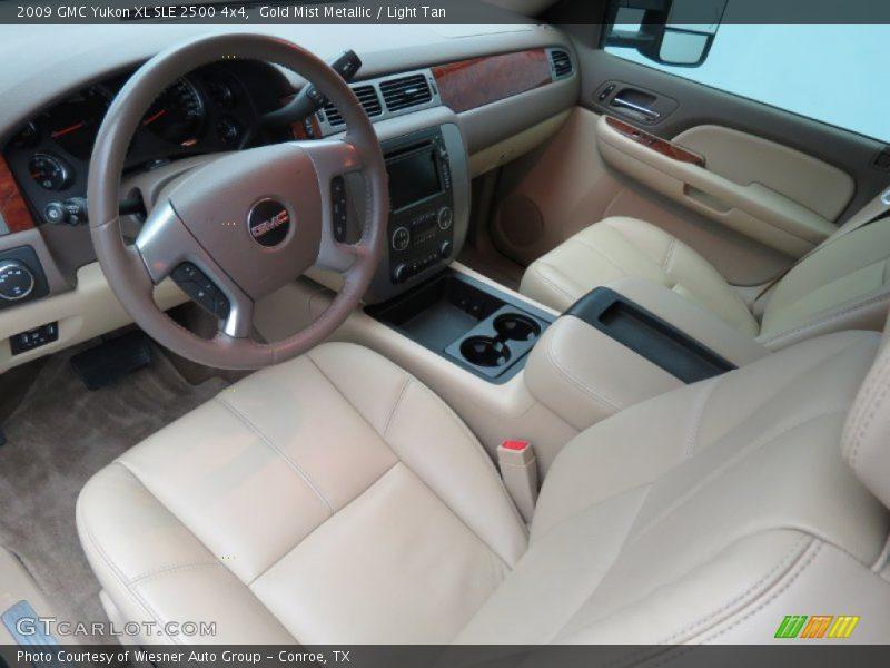 2009 Yukon XL SLE 2500 4x4 Light Tan Interior