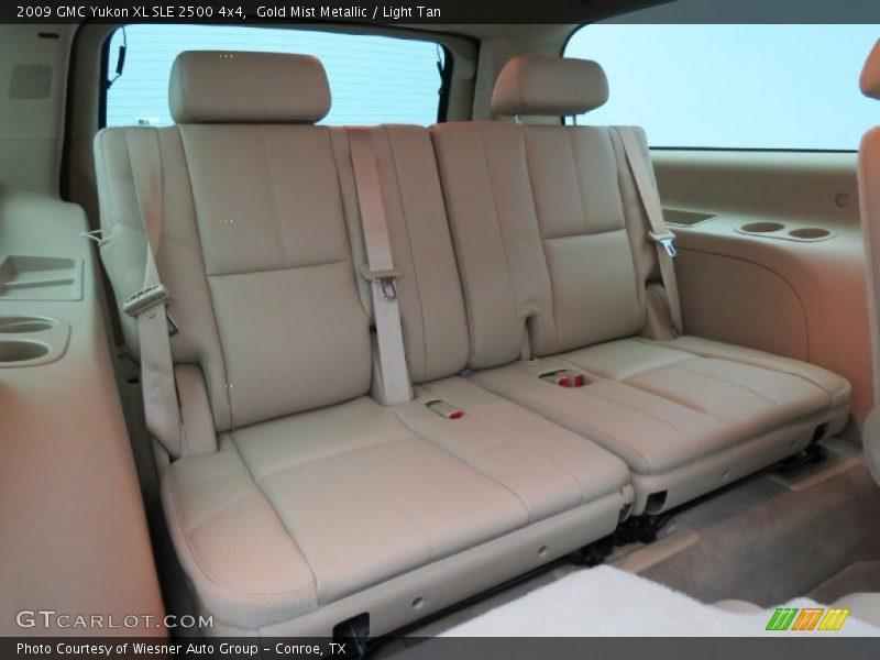 Rear Seat of 2009 Yukon XL SLE 2500 4x4