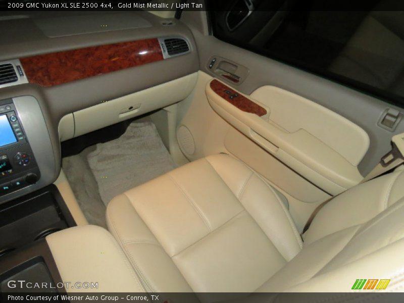 Gold Mist Metallic / Light Tan 2009 GMC Yukon XL SLE 2500 4x4