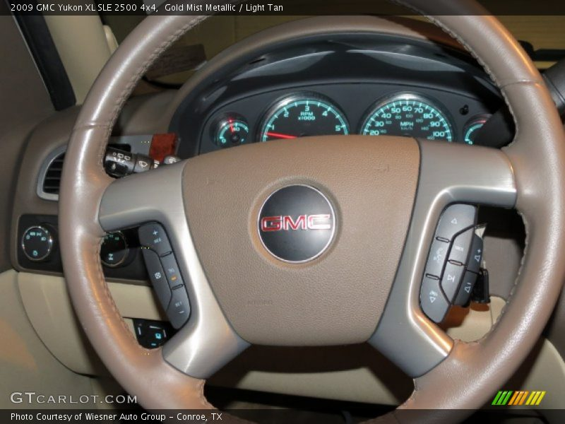 2009 Yukon XL SLE 2500 4x4 Steering Wheel